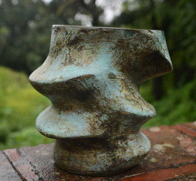 Succulent bronze Karen Lovenguth